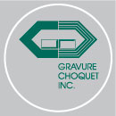 Choquet Engraving Logo